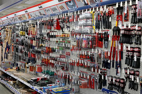 Rudolf Krämer Baumarkt-Handel GmbH - Abteilungen - Werkzeuge