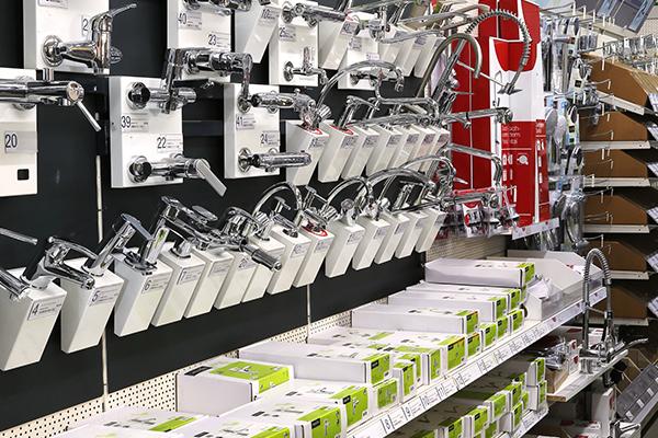 Rudolf Krämer Baumarkt-Handel GmbH - Abteilungen - Bad und Sanitär